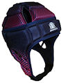 IMPACT Pink-Navy Halftone Fade Headguard : Click for more info.