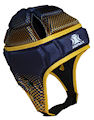 IMPACT Gold-Navy Halftone Fade Headguard : Click for more info.