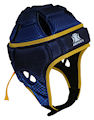 IMPACT Navy-Royal Halftone Fade Headguard : Click for more info.